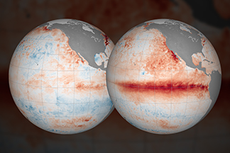 El Niño: Pacific Wind and Current Changes Bring Warm, Wild Weather
