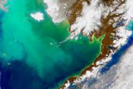 Changing Currents in the Bering Sea