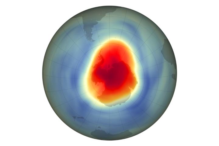 World of Change: Antarctic Ozone Hole