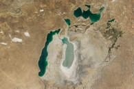 World of Change: Shrinking Aral Sea