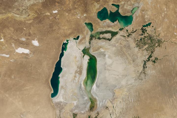 World of Change: Shrinking Aral Sea
