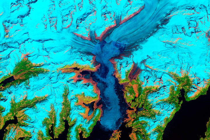 World of Change: Columbia Glacier, Alaska