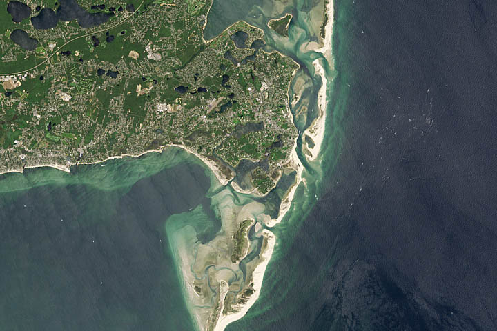 World of Change: Coastline Change on