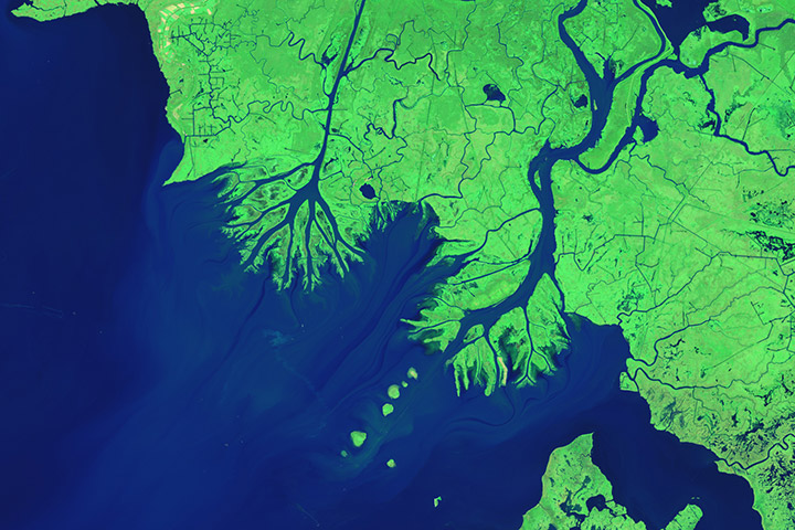 World of Change: Growing Deltas in Atchafalaya Bay