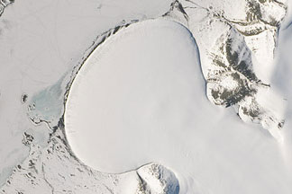 Landsat Goes Over the Top: A Long View of the Arctic