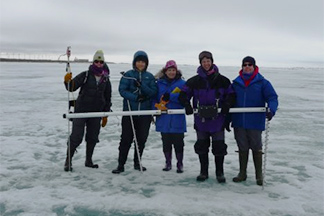 Notes from the Field: A Satellite Scientist Visits the Ice, Alaska 2016