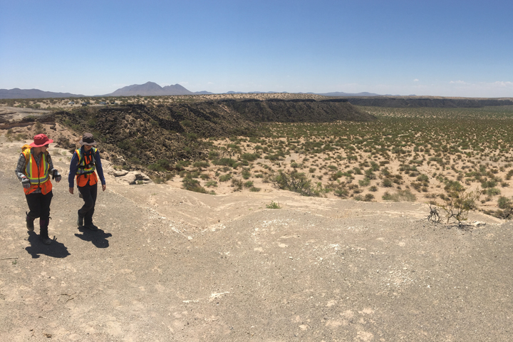 Notes from the Field: In New Mexico, Land of Volcanoes
