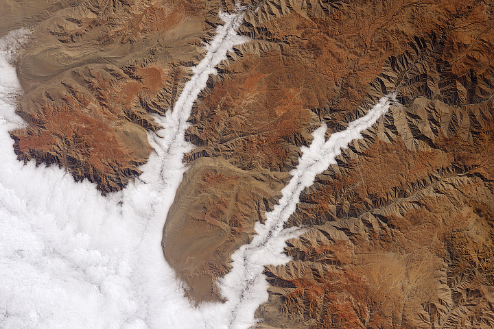 A Celebration of Clouds: From Space, Earth Has an Elegant Atmosphere