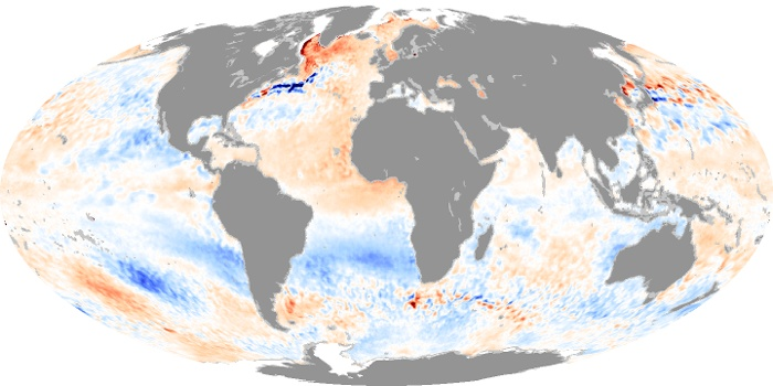 Global Map Sea Surface Temperature Anomaly Image 20