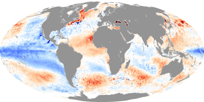 Sea Surface Temperature Anomaly