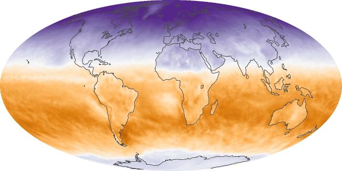 Global Map Net Radiation Image 5