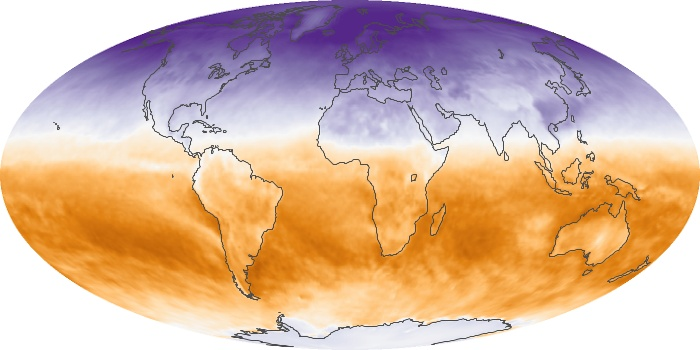 Global Map Net Radiation Image 19