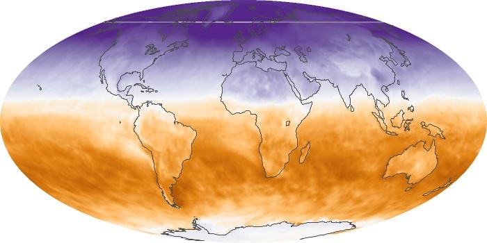 Global Map Net Radiation Image 42