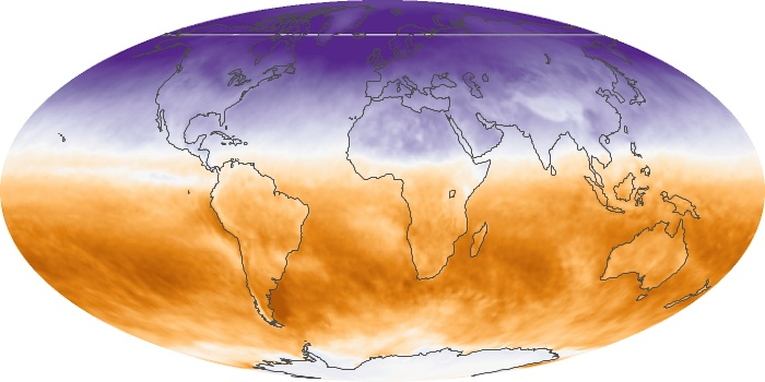 Global Map Net Radiation Image 54