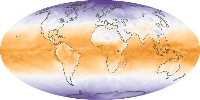 Global Map Net Radiation Image 69