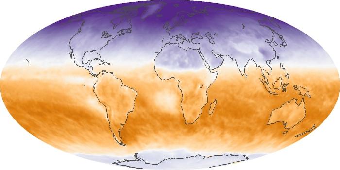 Global Map Net Radiation Image 77