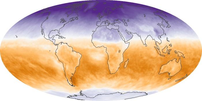 Global Map Net Radiation Image 101