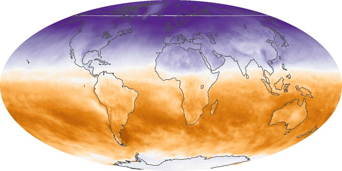 Global Map Net Radiation Image 102