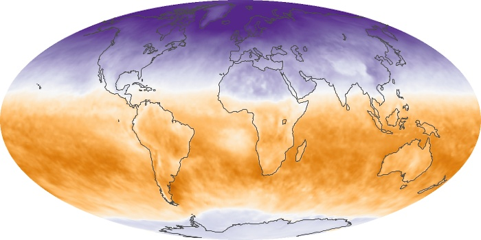 Global Map Net Radiation Image 113