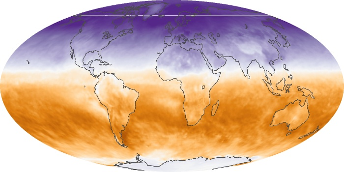 Global Map Net Radiation Image 114