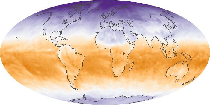 Global Map Net Radiation Image 116