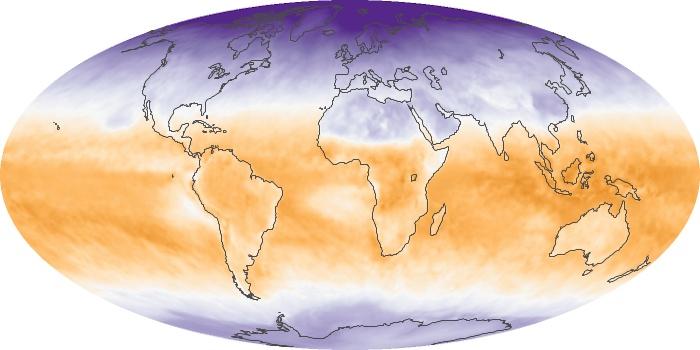 Global Map Net Radiation Image 124