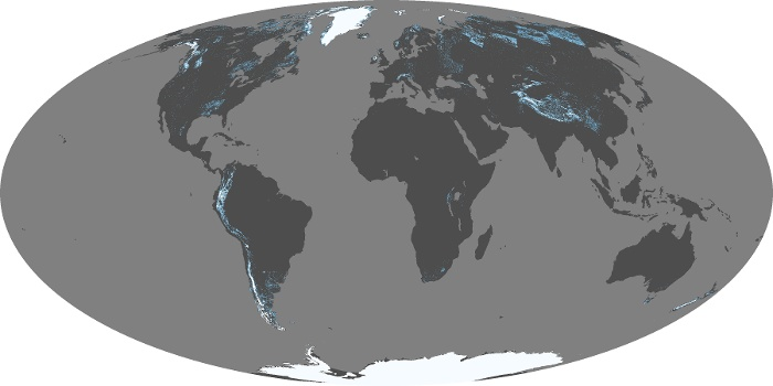 Global Map Snow Cover Image 17