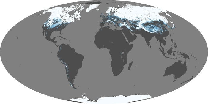 Global Map Snow Cover Image 24