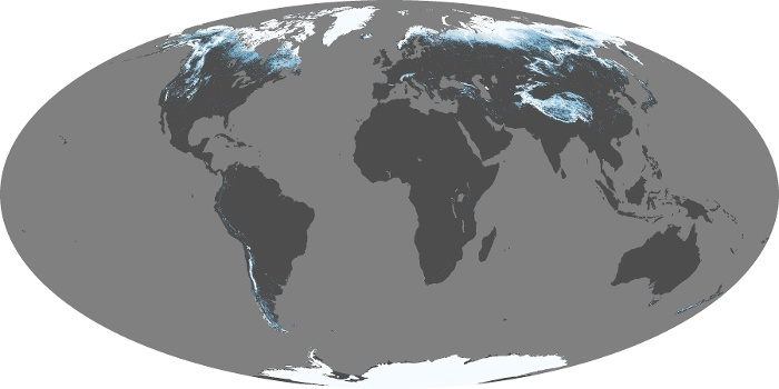 Global Map Snow Cover Image 63