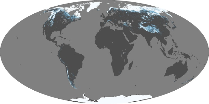 Global Map Snow Cover Image 11