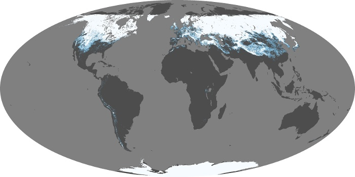 Global Map Snow Cover Image 179