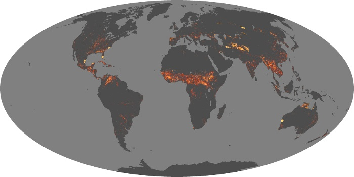 Map Of The World Picture.Fire