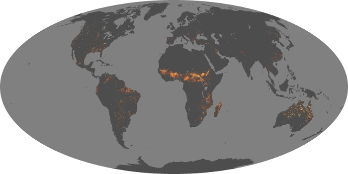 Global Map Fire Image 21