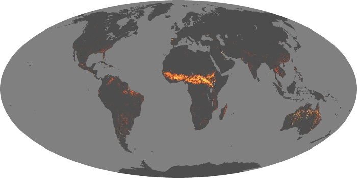 Global Map Fire Image 22
