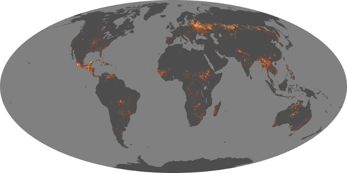 Global Map Fire Image 26