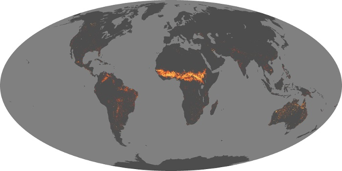 Global Map Fire Image 34
