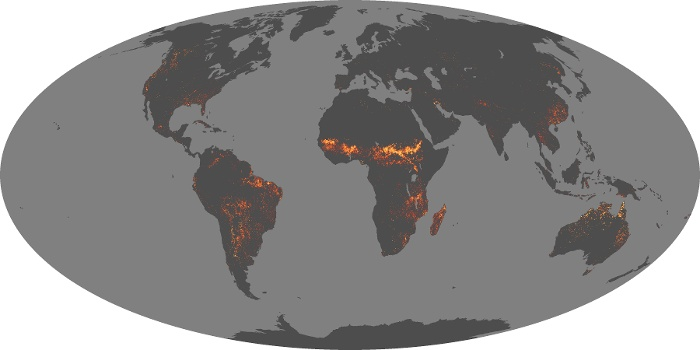 Global Map Fire Image 45