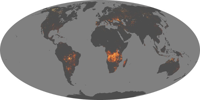 Global Map Fire Image 25