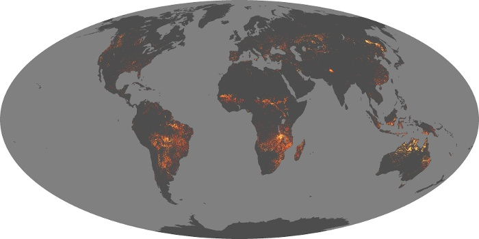 Global Map Fire Image 56