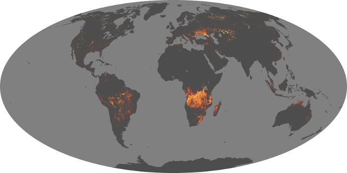 Global Map Fire Image 65