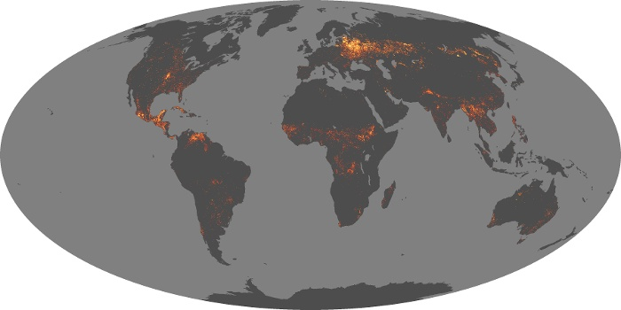 Global Map Fire Image 74