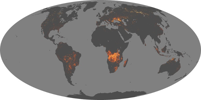 Global Map Fire Image 1