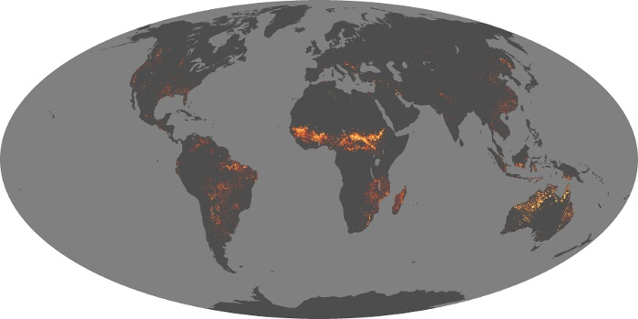 Global Map Fire Image 81