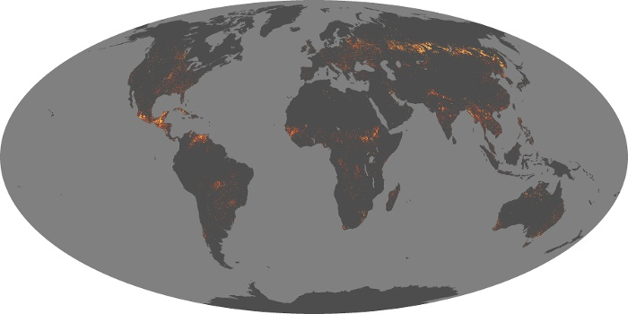 Global Map Fire Image 86
