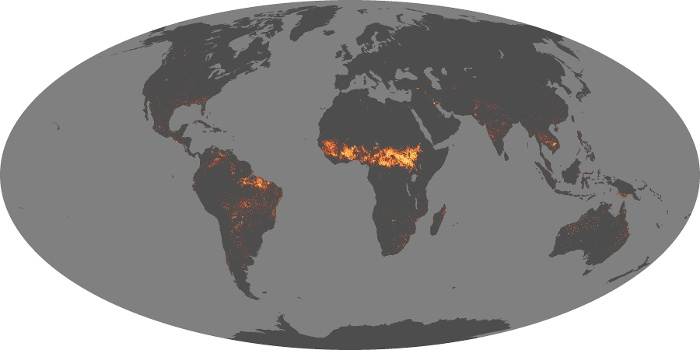 Global Map Fire Image 190