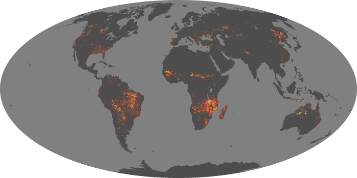Global Map Fire Image 212