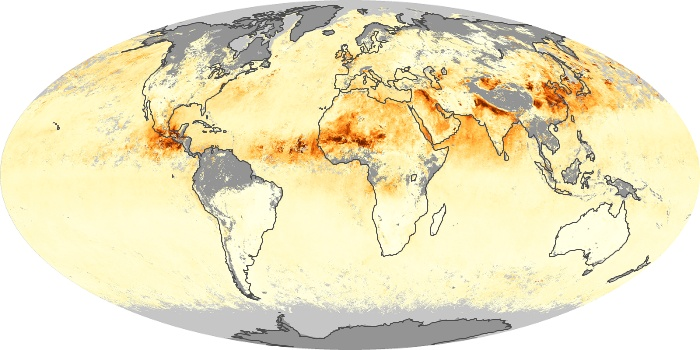 Global Map Aerosol Optical Depth Image 3