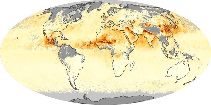 Global Map Aerosol Optical Depth Image 3