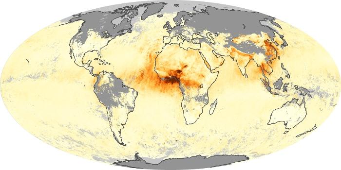 Global Map Aerosol Optical Depth Image 24