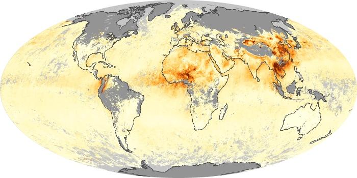 Global Map Aerosol Optical Depth Image 25